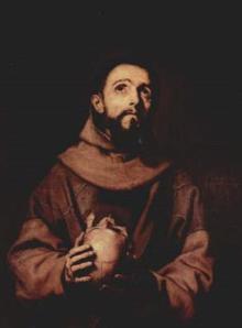 St. Francis  by Jose de Ribera