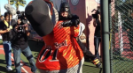 Mascot Lou Seal saved