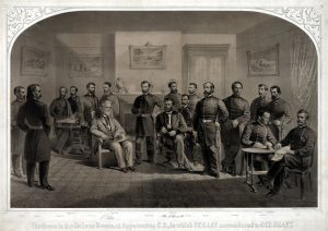 Lee surrenders to Grant            April 9, 1865