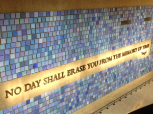 9 11 wall