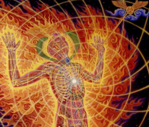 "Alex Grey            ""Holy Fire"""