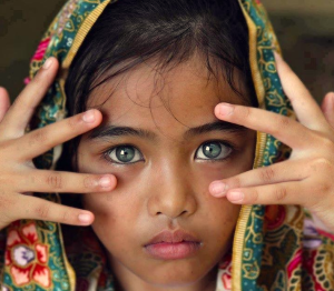 eyes of the child